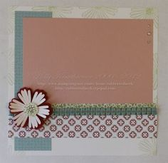 8x8 page with Mixed Bunch, Blossom punch, & Twitterpated dsp. Thanks Holly!