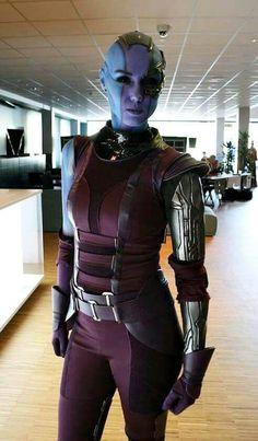 Nebula cosplay