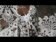 ▶ Вязаный купальник- боди от Olga Lace. Crochet swimwear... - YouTube