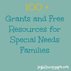 Are you a family of a child with special or medical needs? Do you know someone who is? Then this is the must have resource for grants for medical equipment such as wheelchairs or adaptive bikes, grants to help with medical costs, wish organizations and other ways you can brighten up your child's day.  I... Read More »