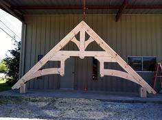 Timber Frame Trusses