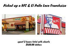 Picked up a KFC & El POLLO LOCO Franchise