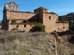 Convento del Desierto de Calanda. Fotografía de Anjolm, 2009, publicada originalmente en Panoramio (servicio de Google desaparecido)
