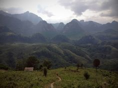 Laos mountains