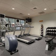 Gym Homewood Suites, House In The Woods, At Home Workouts, Gym Equipment, Interior Design, Egg, Space, Home Fitness, Design Interiors