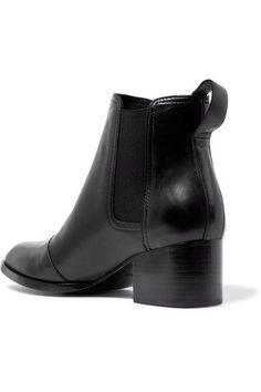 rag & bone - Walker Leather Chelsea Boots - Black - IT41