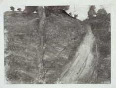The Path Up The Hill, Edgar Degas, Monotype