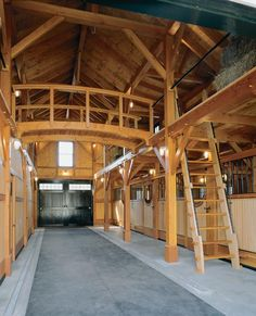 I think an old horse barn would make a great office for creatives, using the stalls as offices.