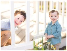 family photos in the spring; child portraits in the spring