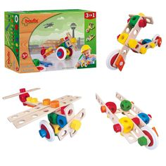 Baufix Flugzeug 3in1 (13110200) Manufacturer: Baufix Barcode: 9003150102007 Enarxis Code: 013566 #toys #construction #model