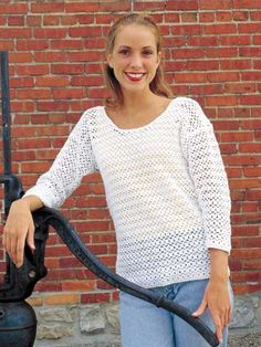 Oversize Blouse - free #crochet pattern. overs blous, crochet projects, free pattern, crochet clothes, crochet sweaters, crochet sweater pattern free, crochet patterns, crochet tank top pattern free, free crochet sweater patterns