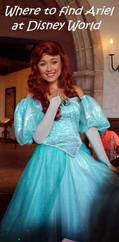 Click on this pin for a list of all the places you can currently find the Little Mermaid at Disney World or see: http://www.buildabettermousetrip.com/princess-ariel-at-disney-world
