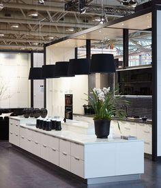 Ikea display kitchen at the Interior Design Show