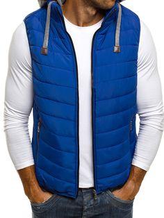 Blue vest - best quality and price. giorgiosolado.com