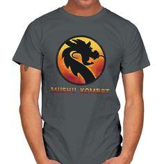 MUSHU KOMBAT T-Shirt - Mulan T-Shirt at RIPT! $7 off with code: CHOICE! Label, Neckline, Sleeves, Mens Tops, T Shirt, Cotton, Products, Disney, Supreme T Shirt