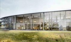Apple Campus 2 - Cafeteria © Apple. Inc. - Foster + Partners