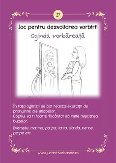 Cum inveti bebelusul sa vorbeasca? Oral Motor Activities, Sequencing Pictures, Kids And Parenting, Autism, Ps, Words, Photo Manipulation, Horse