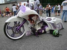 Awesome Bike Made by our Friends @ Back Yard Baggers!
