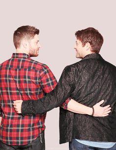 Jensen and Misha :)