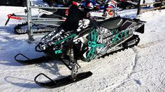 Polaris Pro RMK Flored Dragonfly Sled Wrap