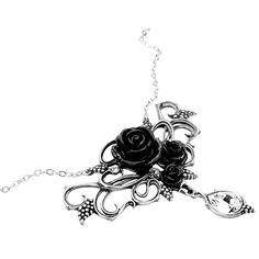 Black Rose Vines von Alchemy Gothic