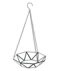 Look at this Glass Hanging Tray on #zulily today!