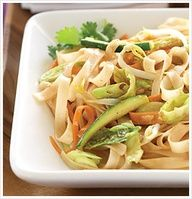 Looking for a tasty alternative to your usual chicken and broccoli? This Pad Thai recipe from The Eat-Clean Diet Cookbook is just for you! Loaded with crisp vegetables and soft rice noodles, this exotic dish will have your whole family wanting more.
