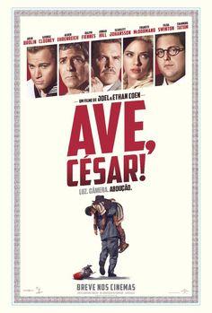 """Cinema para cinéfilos O dia 14 de abril trará grandes estreias ao circuito nacional de cinema, uma delas será a comédia """"Ave, Cesar!"""", que com um que de prêmios futuros, traz a produção, o roteiro …"""