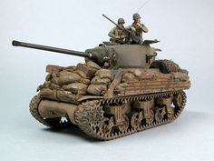 M4A3 Sherman Production version with 76mm gun more than 2000 were produced