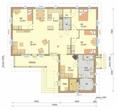 Home Design Plans, Future House, Sweet Home, Floor Plans, House Design, How To Plan, Interior Design, Building, Sims