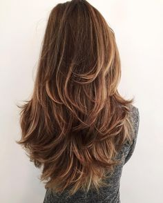 Glam and Gorgeous!! We are swooning over this hot hairdo. Straighten your hair and flip out the ends for this textured style!!