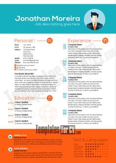 28 Free Professional Resume Templates (PSD, Ai, SVG)