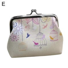 """""""Specifications:Lovely owl, bird, flower, hanging clock, elephant appearance with buckle.Made by polyester, cotton and faux leather, lightweight, portable and fashionable.You can put ID card, coin, cards, cash and other small items in it.As a perfect gift for yourself or your friend.Type: Mini HandbagGender: Women'sStyle: Fashion, CuteMaterial: Polyester, Cotton, Faux LeatherOccasions: Party, Wedding, Daily Life, Gift, ShoppingPatterns: Bird, Flower, Hanging Clock, Butterfly, Owl, ElephantFeatu Clutch Purse, Purse Wallet, Branded Wallets, Chanel, Small Wallet, Aliexpress, Boutique, Card Wallet, Coin Card"""