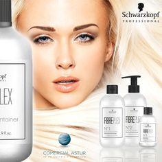 Schwarzkopf Professional, presenta #fibreplex, el primer servicio técnico que reduce significativamente la rotura del cabello durante la decoloración, aclaración o coloración. No compromete el tiempo de exposición, la aclaración ni la neutralización y es completamente compatible con los sistemas de coloración profesionales. #peluqueria Descúbrelo ya en nuestra web http://bit.ly/1P1QSFI