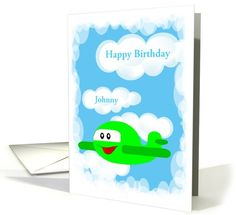 Happy Birthday--For Child-Name Card-Custom... | Greeting Card Universe