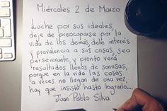 Juan Pablo Silva - Castellano - 4 Frases