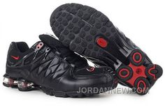 http://www.jordannew.com/mens-nike-shox-r4-shoes-black-red-for-sale.html MEN'S NIKE SHOX R4 SHOES BLACK/RED FOR SALE Only $77.95 , Free Shipping!