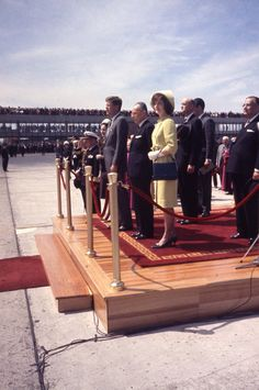 JFK and Jackie on South American Tour, 1963