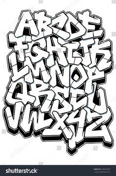 graffiti schrift vorlagen erstaunlich buchstaben graffiti