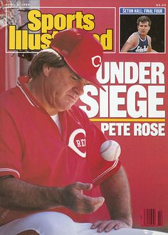 On this day in 1989, SI posted this cover story on Pete Rose that detailed his gambling on baseball games. The then-Reds manager would eventually receive a lifetime ban from baseball for wagering on games he was managing.