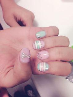 Cool Nail Design at Treat Your Nails #nailcare #naildesign #Atlanta #GA #luxury #nailsalon