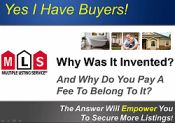 """This is a 40 Minute Video. It's a """" Get A Buyer Training Video!"""" that you show to sellers that Causes The Seller To Want To List With You! I have been checking out this site of Randy Rouessie - THE ULTIMATE LISTING SYSTEM. You get like a million and one things with this system. """"You Get 5 Designs of The Listing Presentation"""" """"You Get A Pre-Listing Presentation""""  """"You Get A Safe Island Presentation""""(stops seller indecision) """"You Get A Testimony Presentation"""" """"You Get 6 Objection Visual"""