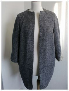 View details for the project Tweed Cocoon Coat Fully Lined on BurdaStyle.