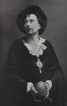 Herbert Beerbohm Tree, a Shakespearean actor from the 1800s . . . or Tom Hiddleston, Shakespeare-loving immortal?