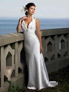 simple beach wedding dresses | Beach bridal gowns – The simple choice to your beach wedding ...