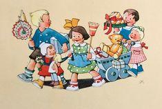 Children, Illustration, Fictional Characters, Art, Young Children, Art Background, Boys, Kids, Kunst