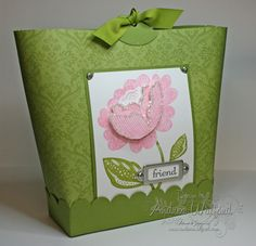Stampin' Up! Project Ideas - Andrea Walford, Sunny Stampin' Blog, Canada, Purse in a Box