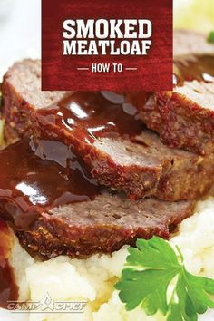 Smoked Meatloaf is comfort food at its finest. Perfect for a cold evening, this recipe for smoked meatloaf will leave your stomach and your family happy. The smoky taste gives this classic a new twist. Try it out on your pellet grill or smoker this week! http://www.campchef.com/recipes/smoked-meatloaf-on-the-pellet-grill/