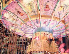 go to the fair & ride the carousel / feel young again / be spontaneous