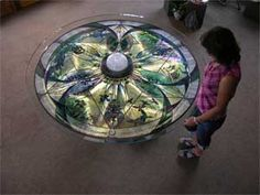 Kaleidoscope table at a different angle